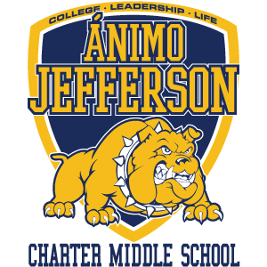 Ánimo Jefferson Charter Middle School logo