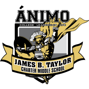 Ánimo James B. Taylor Charter Middle School logo